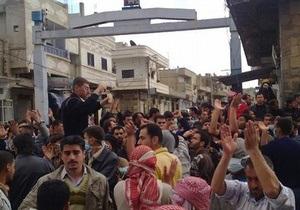 В Сирии при штурме войсками мечети с демонстрантами погибли шесть человек