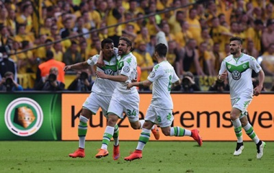 Вольфсбург бьет Боруссию Д и выигрывает Кубок Германии