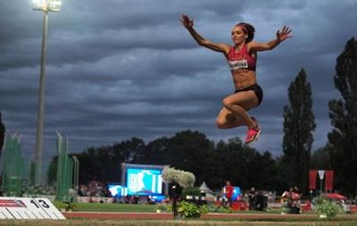 Украинка Ольга Саладуха взяла серебро на этапе Бриллиантовой лиги в Юджине