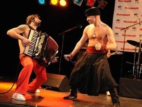 Гайдамаки выступили на Берлинале