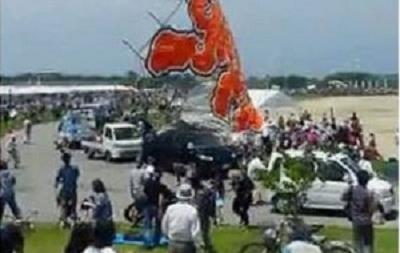В Японии 700-килограммовый воздушный змей упал на людей