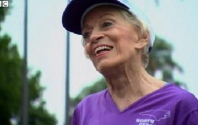 92-летняя американка установила марафонский рекорд