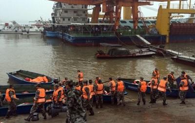 Крушение судна в Китае: премьер возглавит спасательную операцию