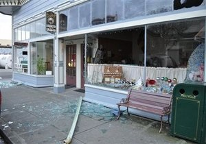 Мощное землетрясение в Калифорнии оставило без электричества тысячи домов