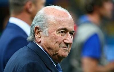 Спонсор FIFA положительно воспринял оставку Блаттера