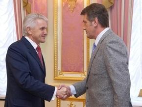 Литвин выступил против импичмента Ющенко