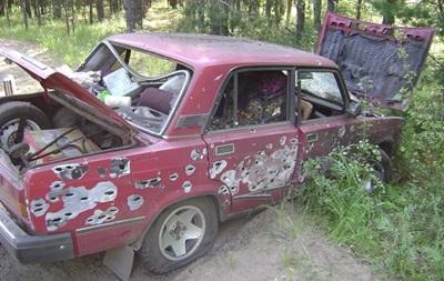 Обнародованы подробности обстрела  авто с супругами на Луганщине