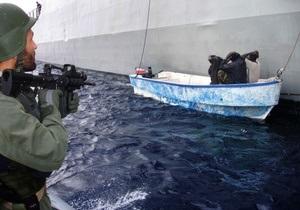 Корабль ВМС США задержал восьмерых пиратов в Аденском заливе