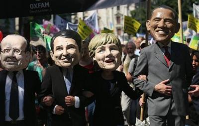 В Мюнхене прошли акции протеста против саммита G7