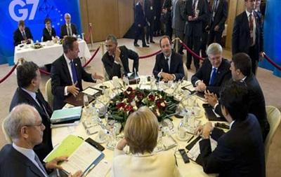 G7 сохранит санкции против РФ до урегулирования ситуации на Донбассе