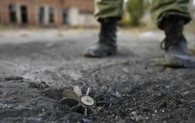 В Луганской области на растяжке подорвался боец АТО