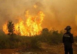 В Чили бушуют лесные пожары: огнем охвачено около 2 тыс гектаров леса