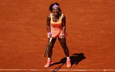 Серена Уильямс стала трехкратной победительницей Roland Garros