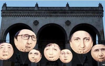 Саммит G7 в Баварских Альпах: Греция, Путин и Эбола