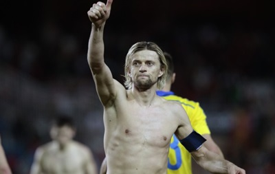 Тимощук: Место Украины в группе говорит о том, что надо побеждать в каждом матче