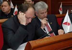 БЮТ создаст в Киевсовете объединенную оппозицию