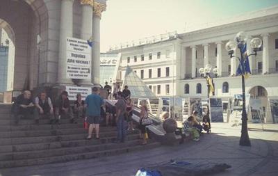 Итоги 8 июня: Разгон  третьего Майдана  и пожар на нефтебазе под Киевом