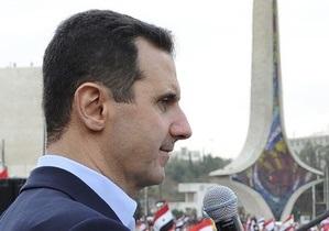 Асад: Происходящие в стране события являются результатом заговора