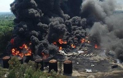 Пожар под Киевом: 10-километровая зона признана опасной