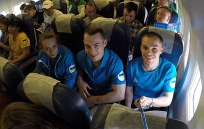 Первые украинские спортсмены отправились на Европейские игры