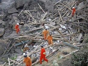 Оползень в Китае унес жизни по меньшей мере 26 человек