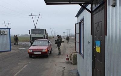 Заблокирован последний пункт пропуска в Луганскую область