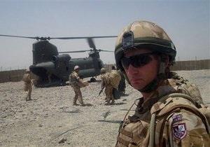 Кэмерон назвал конечную дату вывода британских войск из Афганистана
