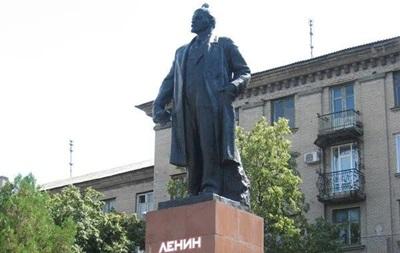 В Дружковке горсовет принял решение снести памятник Ленину