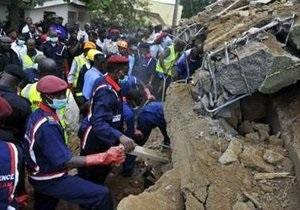 Жертвами обрушения здания в столице Нигерии стали 19 человек