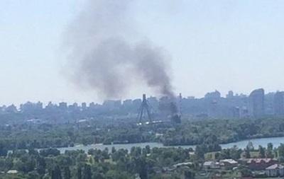 В Киеве потушили два пожара