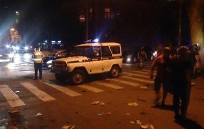 Появилось видео погрома консульства Украины в Ростове-на-Дону