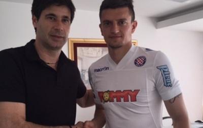 Хорватский Хайдук подписал третьего украинского футболиста