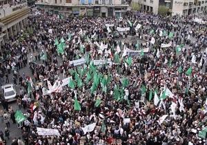 В Дамаске прошла многотысячная демонстрация против политики Израиля в Иерусалиме