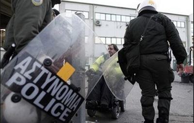 Анархисты напали на офис центристской партии в Греции