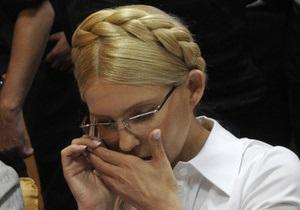 Судья Киреев и прокурор Фролова недовольны тем, как Тимошенко слушает обвинительное заключение