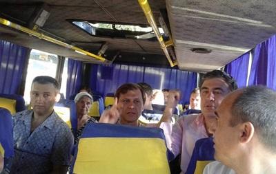 Интер  показал один день из жизни Саакашвили в Одессе