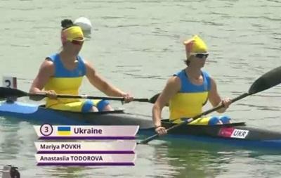 Европейские игры: Украинки завоевали бронзовую медаль в гребле