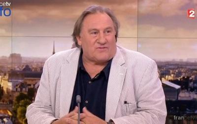 Депардье: многие французы хотели бы видеть Путина своим президентом