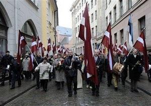 В Латвии разрешили шествие легионеров СС