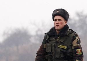 Сумские пограничники изъяли у россиянина ружье Сайга