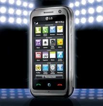 LG Electronics объявляет о выходе мультимедийного телефона ARENA на европейский рынок