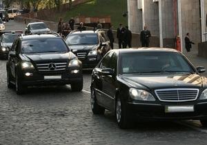 Раде предлагают запретить перекрытие дорог для первых лиц в часы пик