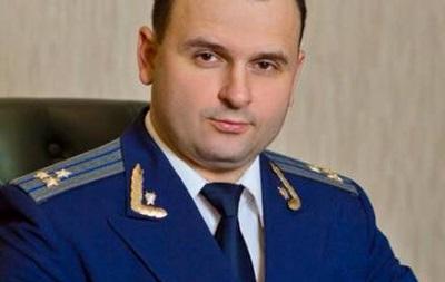 Уволен прокурор Черкасской области