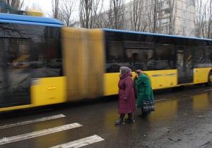 В Киеве открыли новый троллейбусный маршрут