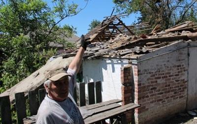 Из-за обстрелов в Марьинке разрушено более тысячи домов