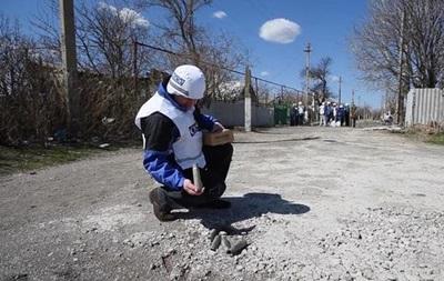 ОБСЕ сообщает об обострении ситуации в районе Донецка