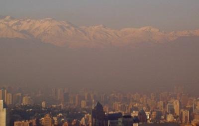 Чрезвычайное положение объявили в столице Чили из-за сильного смога