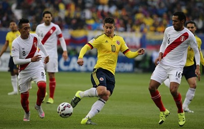 Копа Америка: Перу в матче с Колумбией отстоял путевку в плей-офф