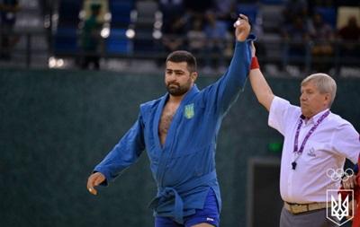 Тоноян приносит Украине бронзу Европейских игр в соревнованиях по самбо
