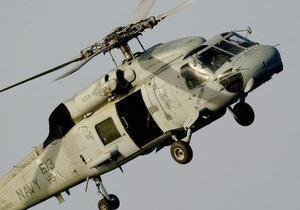 В Германии разбился американский военный вертолет
